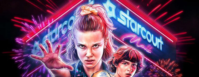 Stranger Things temporada 3 4 julio poster