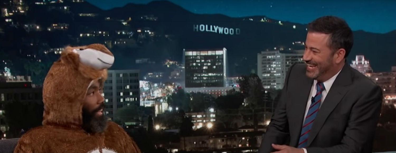 Donald Glover Jimmy Kimmel entrevista Beyoncé The Lion King Childish Gambino