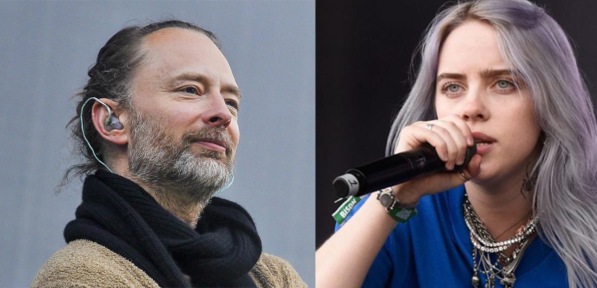 A Thom Yorke le gusta la música de Billie Eilish.