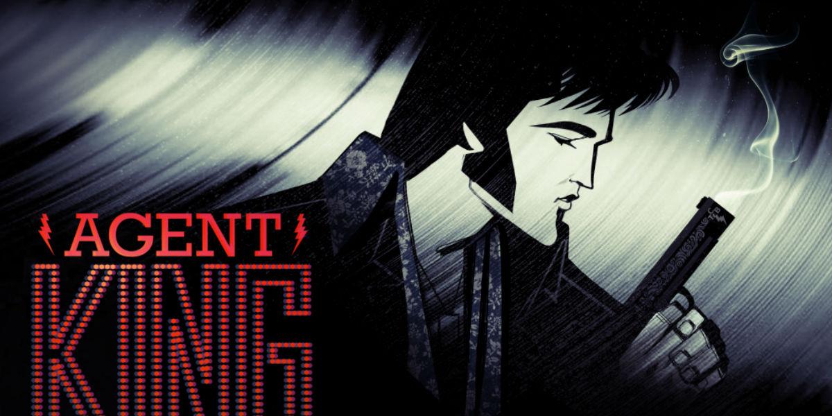 Elvis Presley Agent King serie animada Netflix