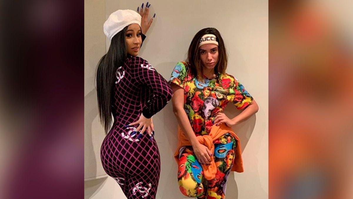 Cardi B y Anitta colaboración