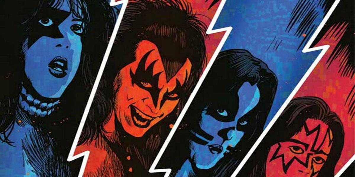 Kiss Zombies cómic adaptación Genne Simmons