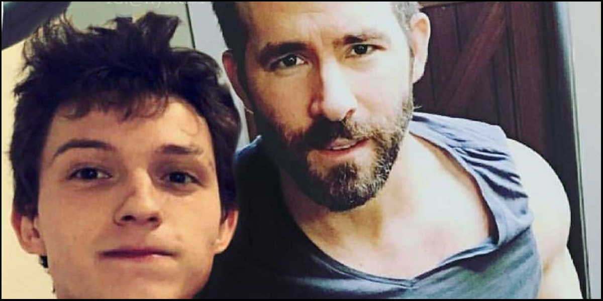 Ryan Reynolds y Tom Holland broma Instagram
