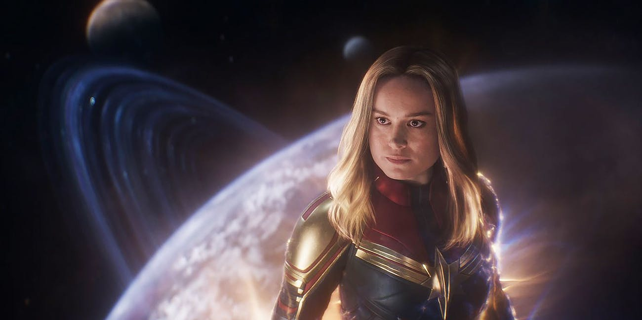 Brie Larson película mujeres Marvel