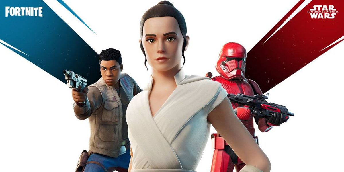 fortnite evento star wars the rise of skywalker 2019
