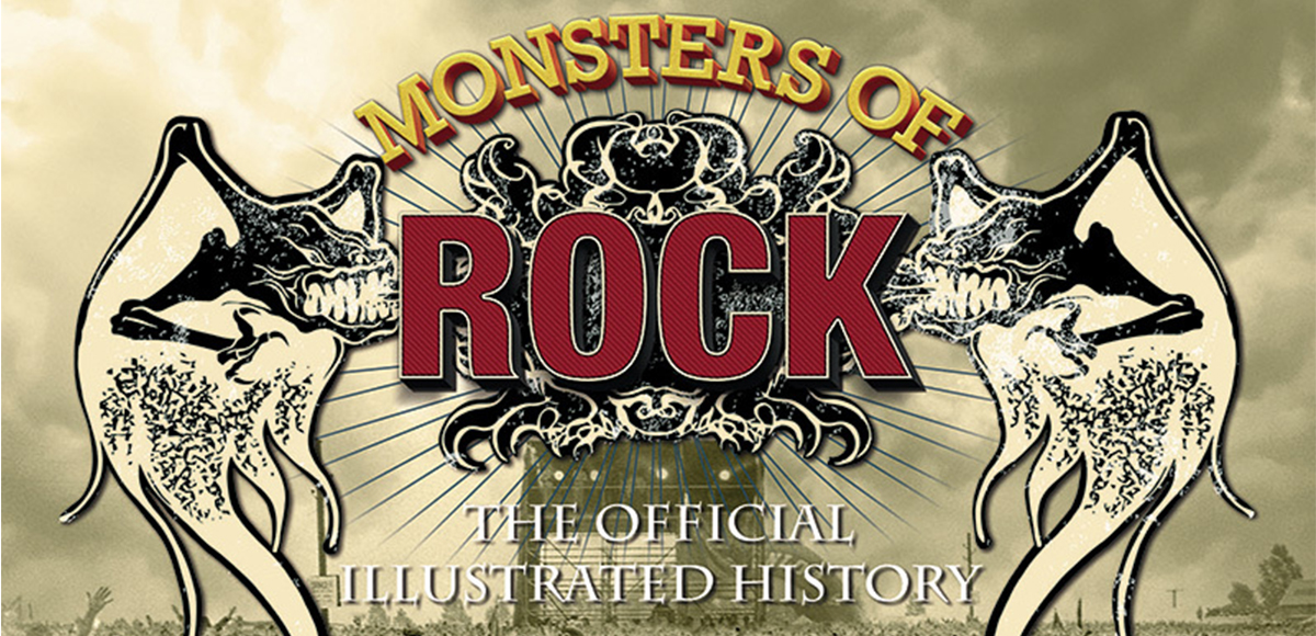 El festival Monsters of Rock tendrá un libro que celebre su legado