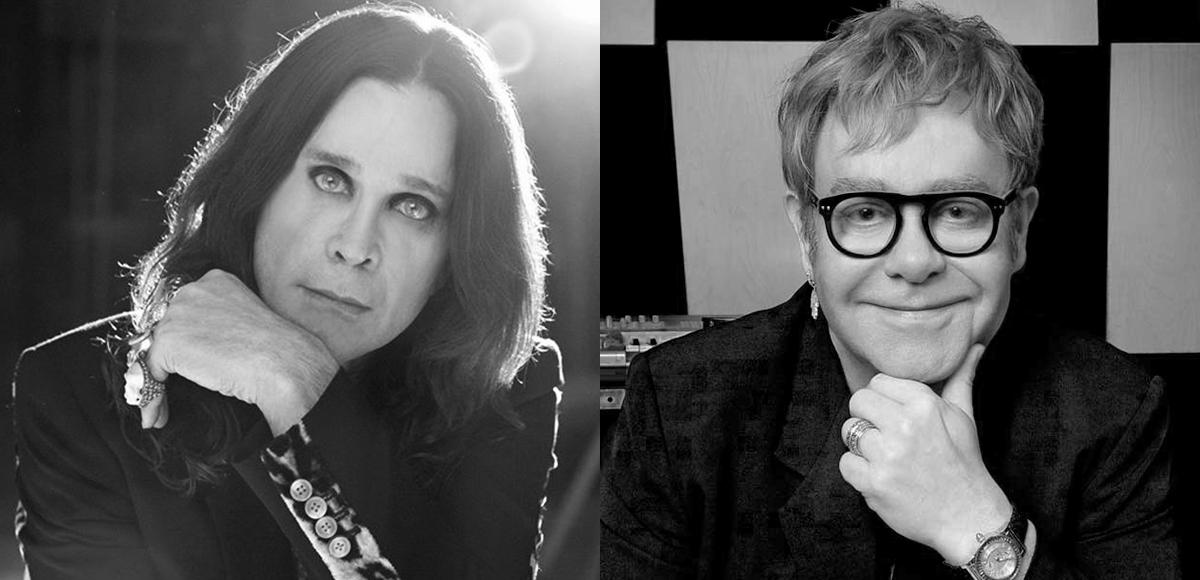 Ozzy Osbourne prepara colaboración con Elton John