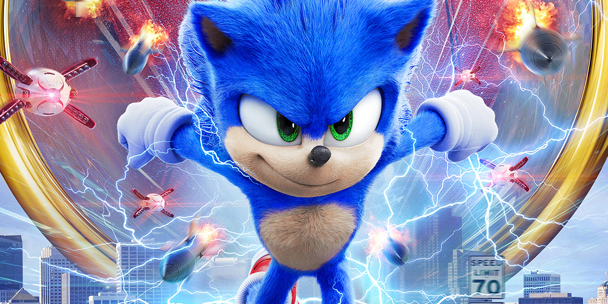 sonic the movie nuevo poster paramount pictures