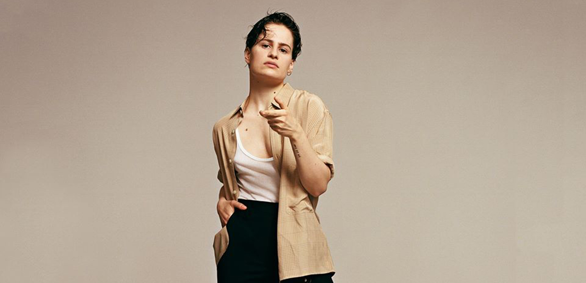 Christine and the Queens coverea 'Blinding Lights' de The Weeknd