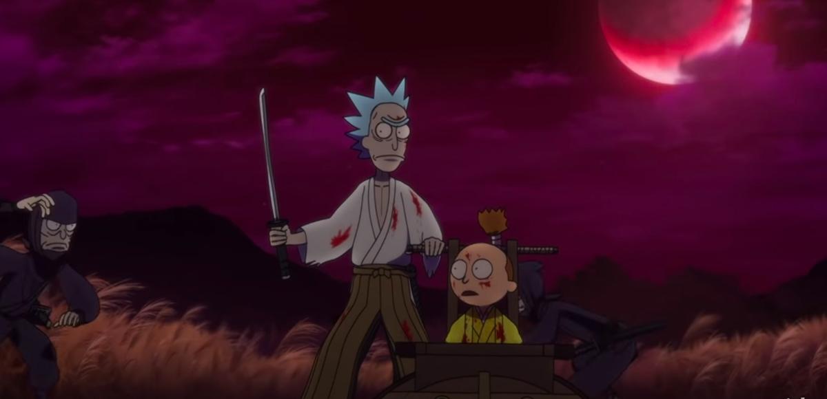 'Rick y Morty' estrenó un mini episodio sorpresa de anime