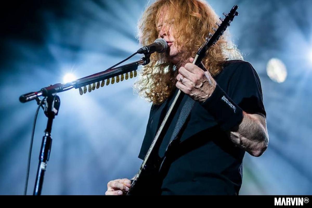 Dave Mustaine da avances sobre el próximo disco de Megadeth